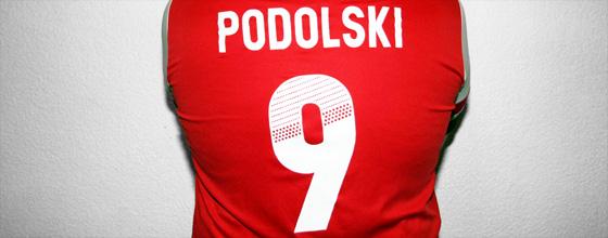 Podolski - Arsenal Trikot Rückennummer 9