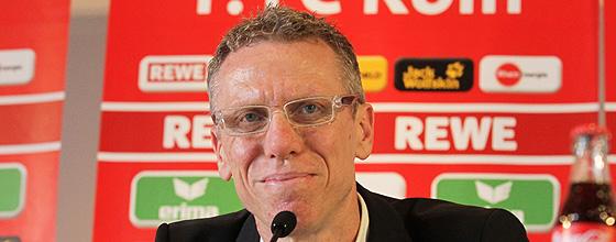 Pressekonferenz Peter Stoeger