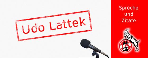 Sprüche und Zitate: Udo Lattek