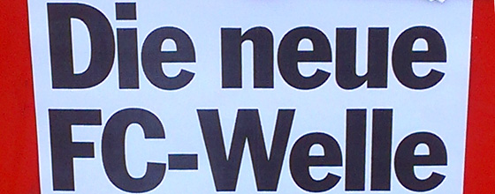 EXPRESS Plakat: Die neue FC-Welle