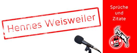 Sprüche und Zitate: Hennes Weisweiler
