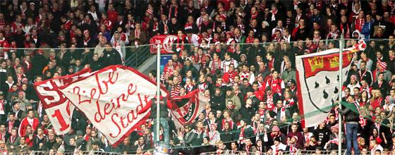 Südkurve des 1.FC Köln
