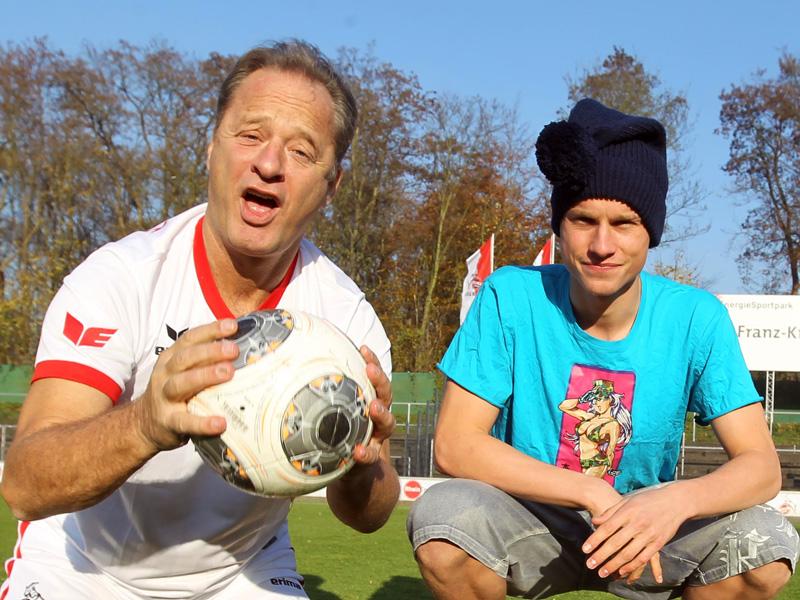 Tom Gerhardt und Yannick Gerhardt vom 1.FC Köln