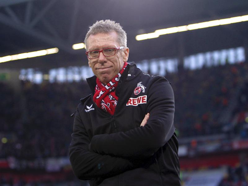 Peter Stöger, Trainer des 1.FC Köln, Winterkönig der Saison 2013/2014