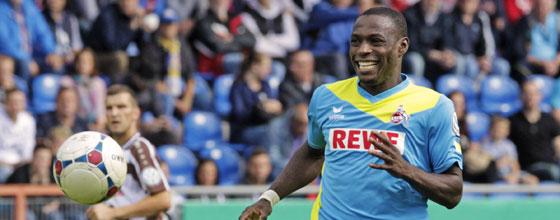 Anthony Ujah im blau-gelben FC-Trikot