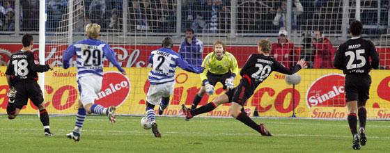 MSV Duisburg - 1.FC Köln Spielszene vor dem Kölner Tor (Saison 1005/2006)