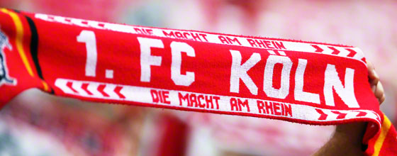 Fanschal 1. FC Köln - Die Macht am Rhein