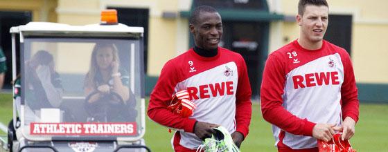 Tony Ujah und Kevin Wimmer verlassen den 1. FC Köln