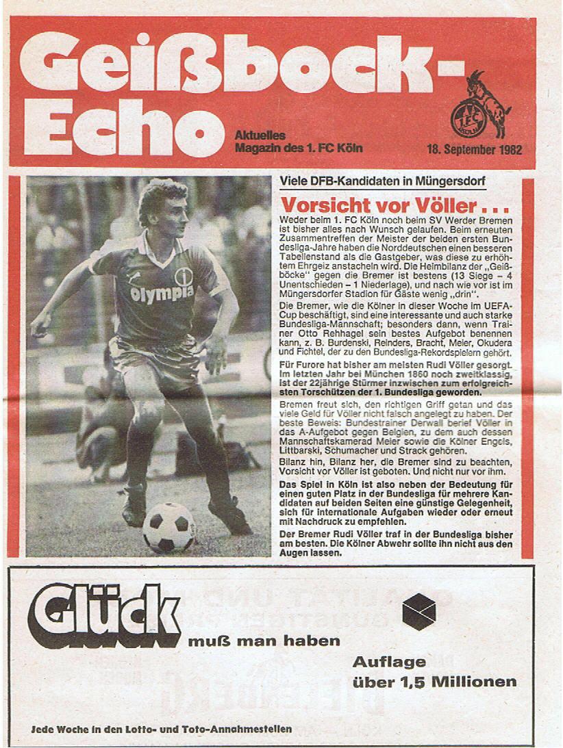 Geissbockecho-fc-koeln-Werder-Bremen-1982