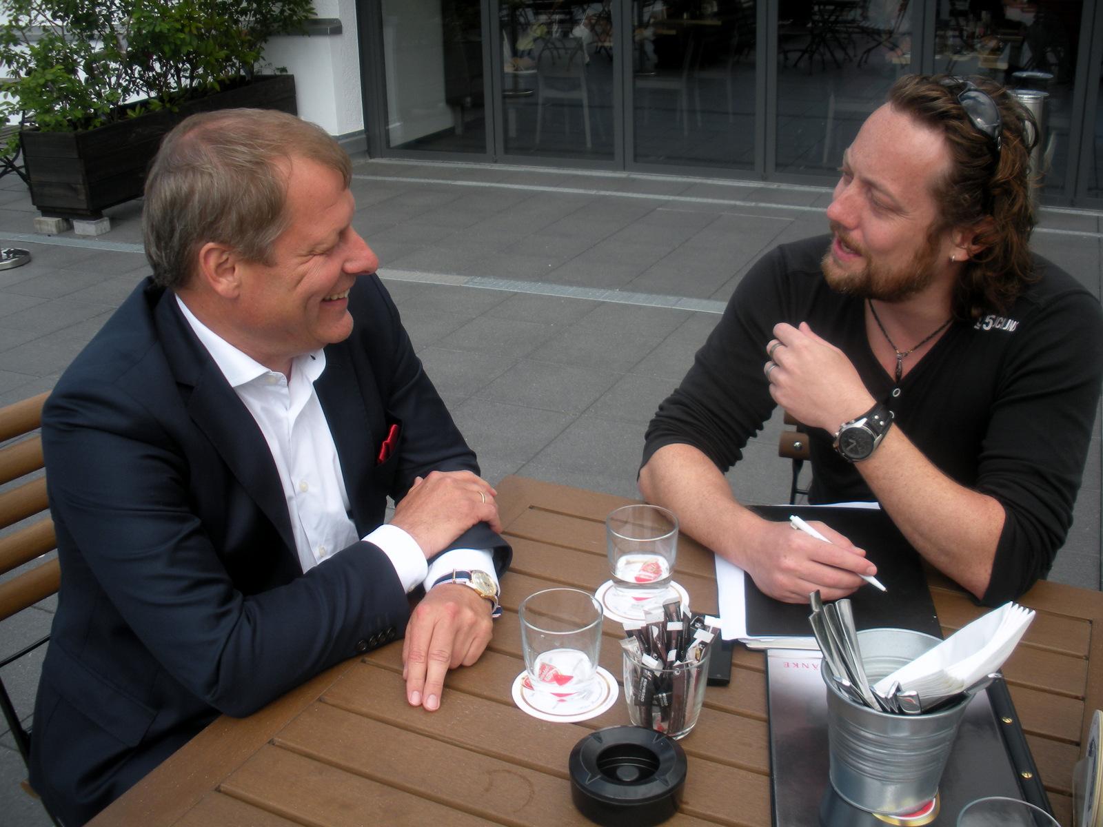 Markus Ritterbach im Interview mit Philipp Tekampe