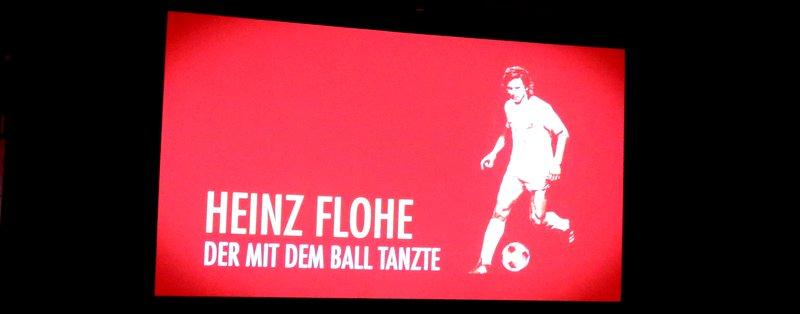 Kinopremiere: Der mit dem Ball tanzte über Heinz Flohe