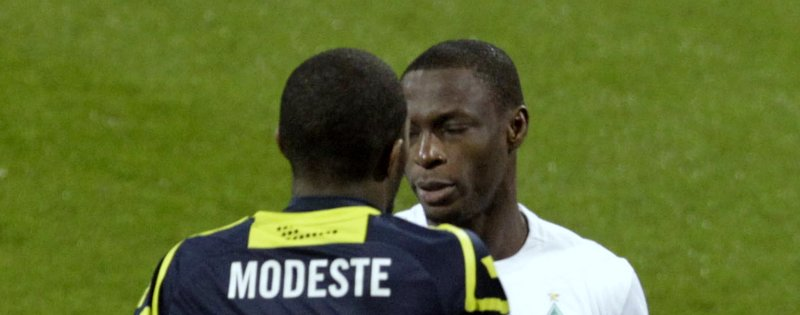 Anthony Ujah und Anthony Modeste