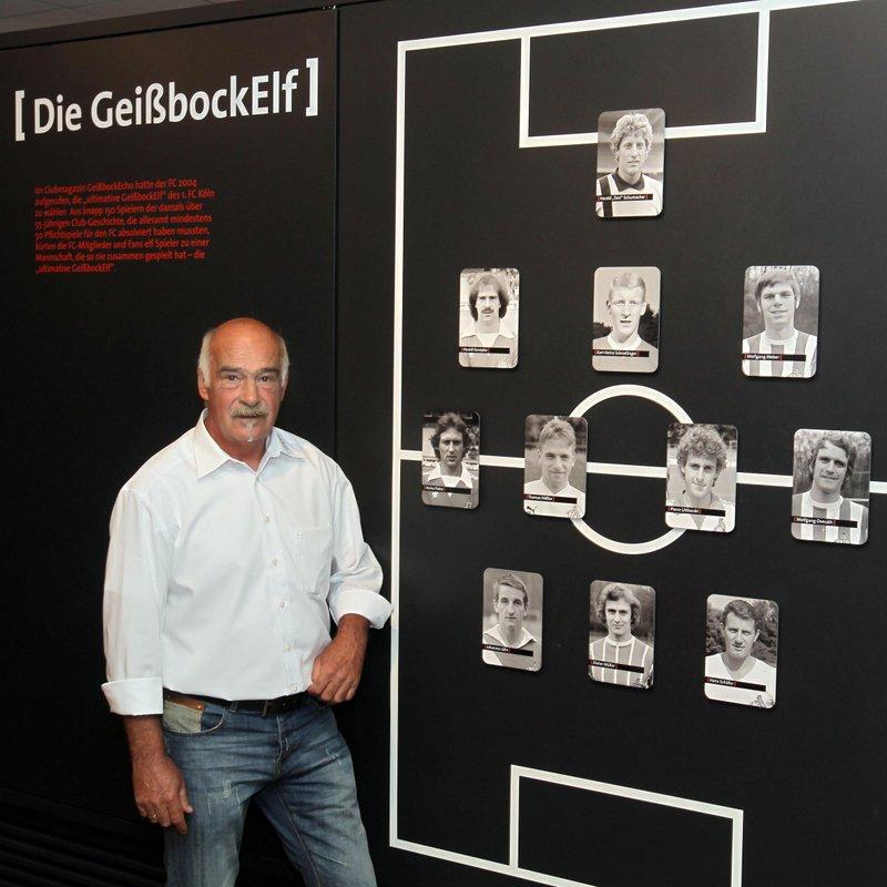 1.FC Köln Die Meister-Tour mit Harald Konopka - eine Stadionführung im Jetzt und in der Vergangenheit