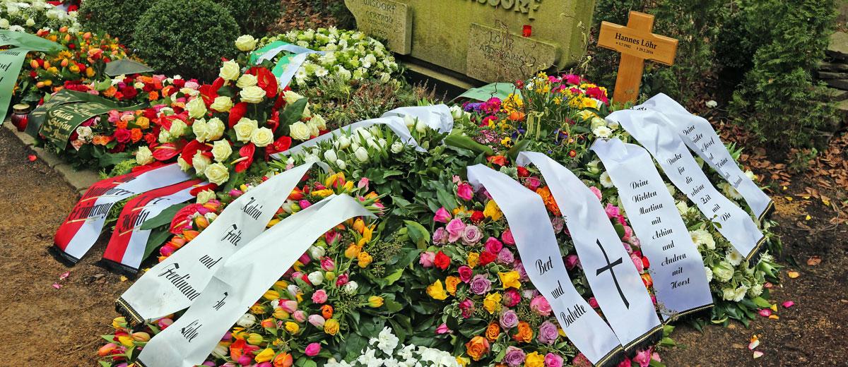 Grab von Hannes Löhr