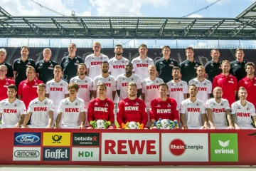 Mannschaftsfoto 1. FC Köln
