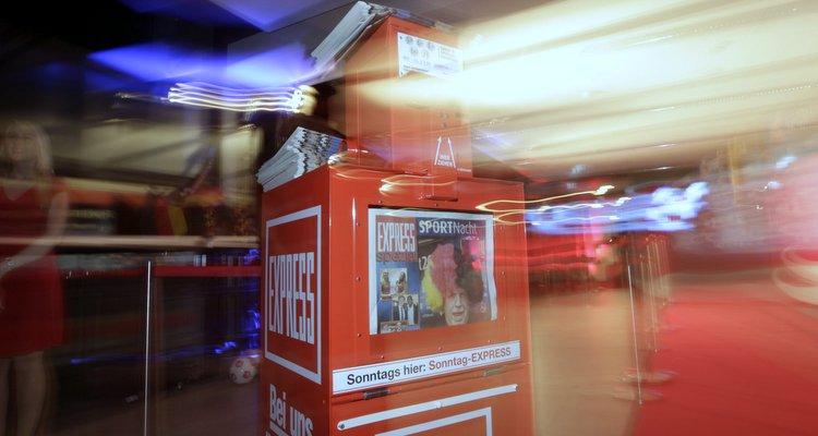 Express-Automat beim 1. FC Köln