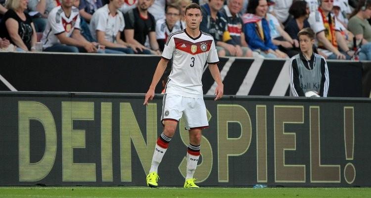 Jonas Hector im Trikot der deutschen Nationalmannschaft