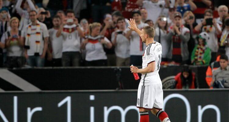 Lukas Podolski tritt aus der Nationalmannschaft zurück