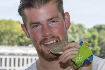 Timo Horn Silbermedaille
