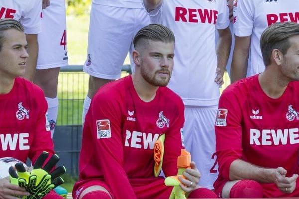 Die Torhüter des 1. FC Köln: Sven Müller,Timo Horn und Thomas Kessler