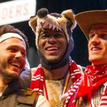 Bittencourt, Modeste, Zoller - Karneval beim 1. FC Köln