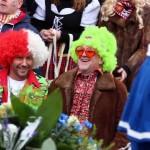 Jörg Schmadtke beim Rosenmontagszug