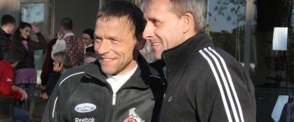 Thomas Häßler und Pierre Littbarski