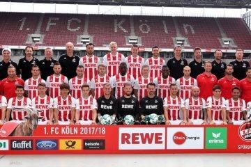 1. FC Köln Mannschaftsfoto Saison 2017/18