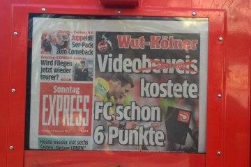 Express Schlagzeile Videobeweis