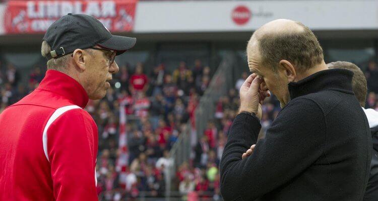 Schmadtke, Stöger beim 1. FC Köln